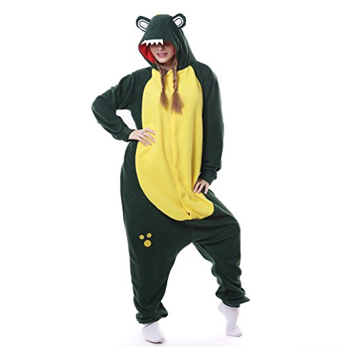 [Foresightrade Adults and Children Animal Cosplay Costume Pajamas Onesies Sleepwear] (Chipmunk Squirrel Costume Party)