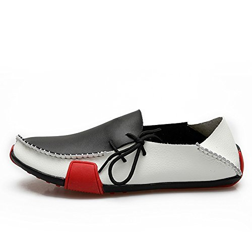 Ceyue men's leather loafers shoes walking shoes