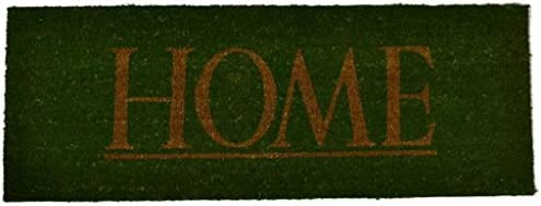 Imports D cor Vinyl Backed Coir Doormat, 48 by 18-Inch, Home