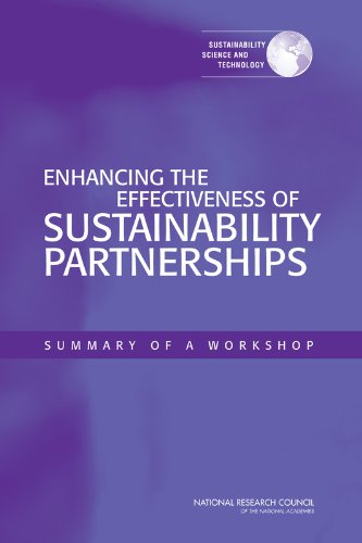 Enhancing the Effectiveness of Sustainability Partnerships: Summary of a Workshop