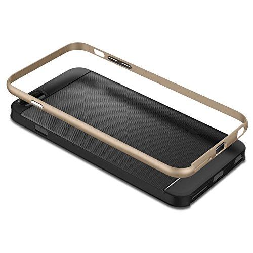 Phone Taschen & Schalen Bumblebee Silm Hybrid PC Rahmen & TPU Schutzhülle für iPhone 6 Plus & 6S Plus ( Color : Red )