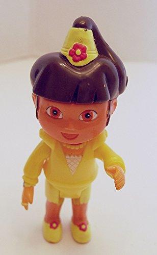 Dora the Explorer Princess 4.5 Inches Tall Mini Doll Poseable Figure
