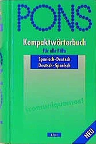 PONS Kompaktwörterbuch für alle Fälle: PONS Kompaktwörterbuch, Spanisch