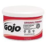 GOJO 1109 Original Formula Hand Cleaner Creme Container, 14 oz. (Case of 12)