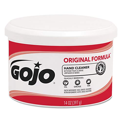 GOJO 1109 Original Formula Hand Cleaner Creme Container, 14 oz. (Case of 12)