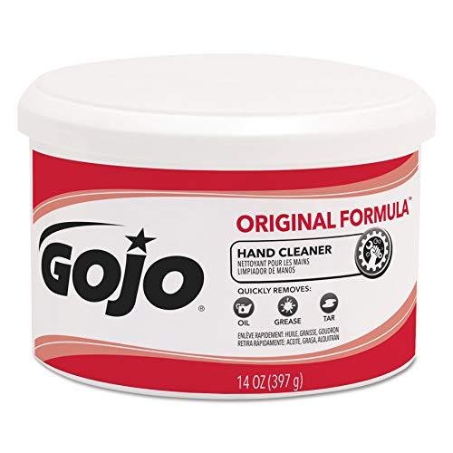 GOJO 1109 Original Formula Hand Cleaner Creme Container, 14 oz. (Case of 12) ()