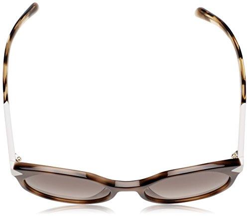 Prada Sonnenbrille (PR 11TS) Striped Dark Brown