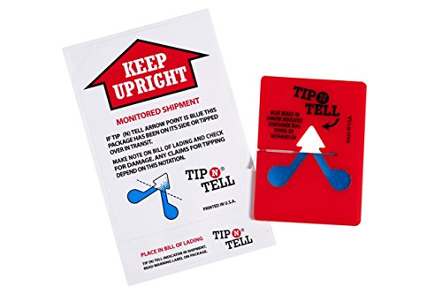 Tip-n-Tell Transport indicator (50 pieces) by Tip-n-Tell