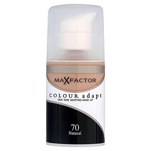 Max Factor Color Adapt Skin Tone Adapting Makeup for Women, 70 Natural, 1.14 -