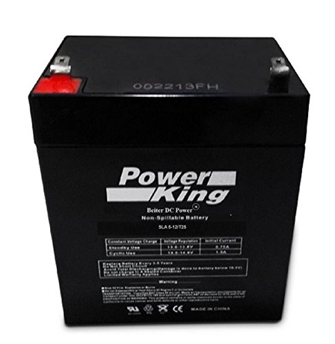 Enersys 12V 4 5Ah Sla Rechargeable Battery For Security Systems