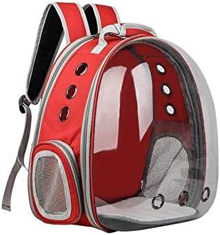 GBX Pet Cat Backpack Mochila Plegable Multifuncional para Mascotas Pet Large Bubble Pet Backpack Red: Amazon.es: Productos para mascotas