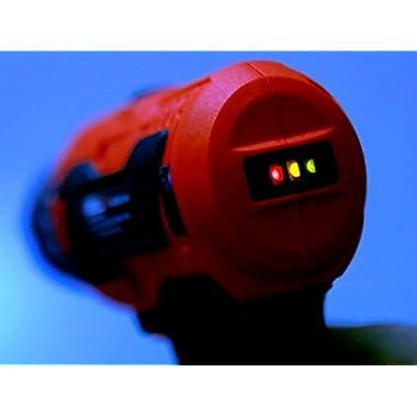 iBELL Cordless Drill Driver CD12-74, 12-Volts, 2 Battery+BMC Box 13