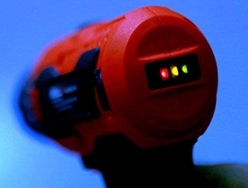 iBELL Cordless Drill Driver CD12-74, 12-Volts, 2 Battery+BMC Box 6