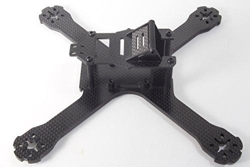 Gorilla Wing QAV-X Carbon Fiber Quadcopter FPV Drone Racing Frame with Velcro LiPo Battery Strap