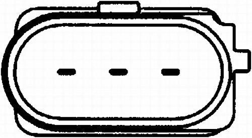 Anschlussanzahl 3 Kurbelwelle HELLA 6PU 009 146-331 Impulsgeber