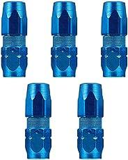 BESPORTBLE 5Pcs Graxeira Substituição Fecho De Engate de Graxa Ponta Do Bico Pulverizador Acessórios Azul