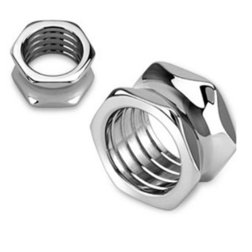 Stainless Hexagon Plugs Hollow Tunnels