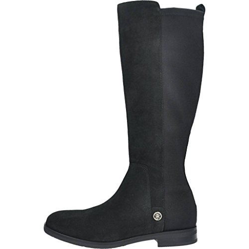 Marca Color Hilfiger Hilfiger Negro Berry Botas Tommy Mujer Mujer 23c Negro Modelo Para FUIOwq6