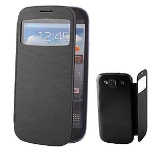 Funda con ventana para Samsung Galaxy s5 - negro
