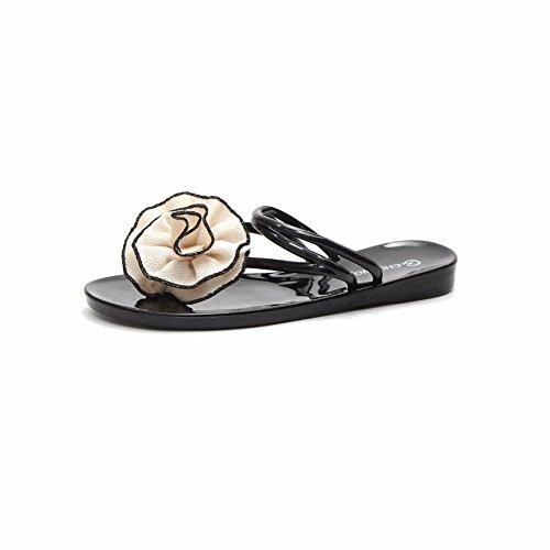Ladies' À de Plage Chaussures Mi YUCH D'Étudiant Fond Chaussons Plat TpqwP4