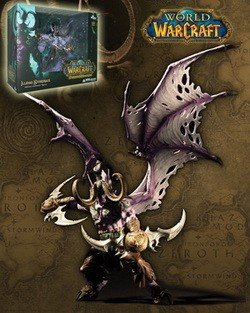 World of Warcraft: Illidan Stormrage Deluxe Collector Figure ()