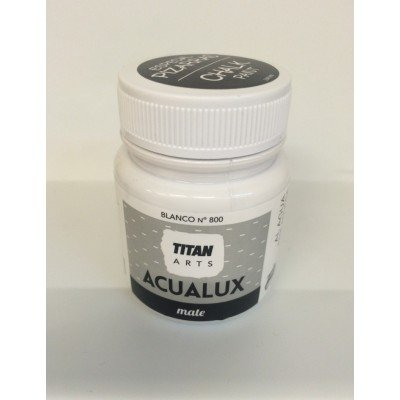Titan Acualux Mate - Pintura efecto pizarra, color blanco ...