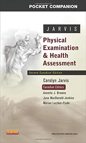 Pocket Companion for Physical Examination and Health Assessment, Canadian Edition, 2nd Edition (Physical Examination And Health Assessment 2nd Canadian Edition)