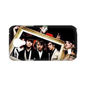 3D Print Panic! at the Disco Theme Case Cover for SamSung Galaxy S4 mini i9192/i9198 - Personalized Hard Cell Phone Back Protective Case Shell-Perfect as gift