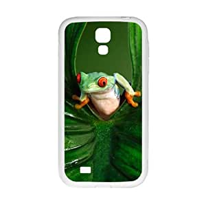 Green leaves and unique frog Cell Phone Case for Samsung Galaxy S4