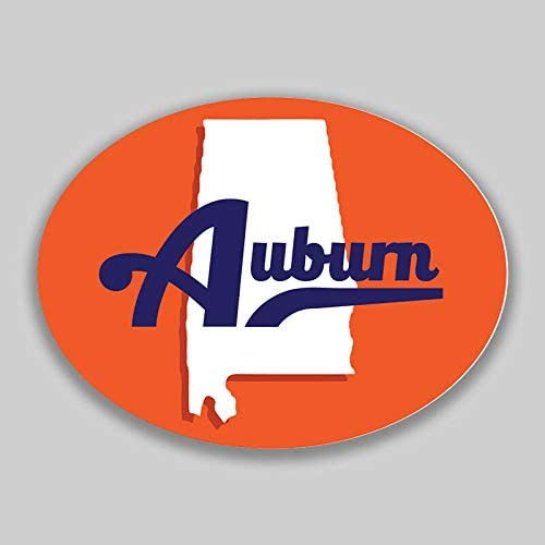 Alabama University /> Auburn University Decal Window Sticker Car or Truck