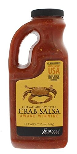 Chesapeake Bay Style Crab Salsa - 37 ounce - Peppers Crab Blue