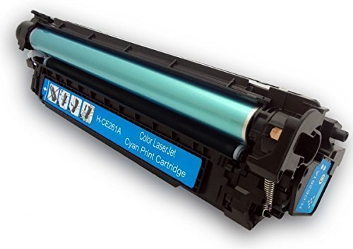 HD Toner 1 Pack Cyan Toner Set for HP LaserJet CP4025 CP 4525 Series Cp Series Printers