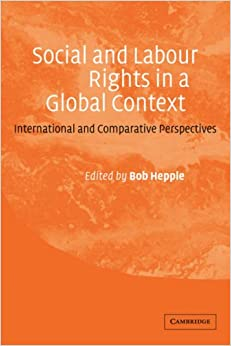Book Social and Labour Rights in a Global Context: International and Comparative Perspectives