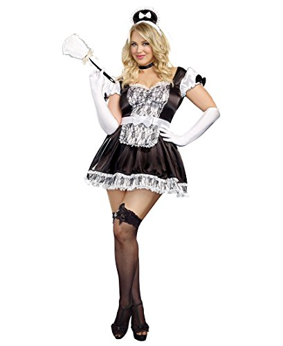 [Maid For You Costume - Plus Size 3X/4X - Dress Size 18-20] (Plus Size Costumes 4x)