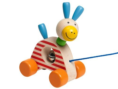 1629 Pedro (Pull toy) - Selecta Wooden Toys/Selecta Spielzeug by Selecta Spielzeug
