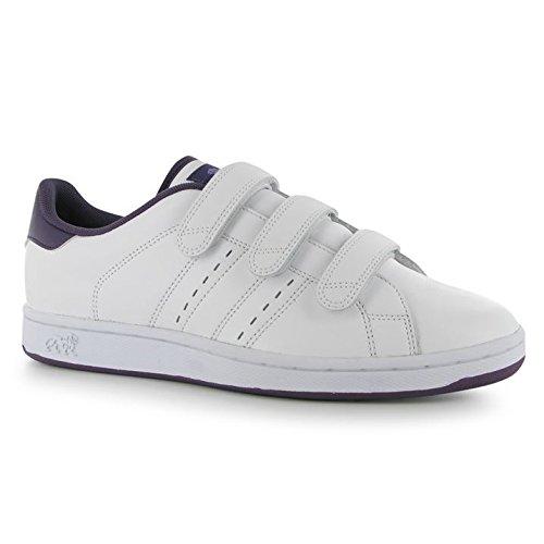 Y Lonsdale Mujer De Sport Leyton Superior Zapatillas Neopreno Traje Zapatos Parte Blanco Morado Casual Calcetines Cuero Para Protectores fqfUHrwacB