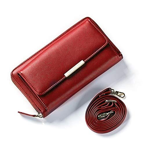 Guoyy para 5x11 Bolso Rojo mujer al 5cm hombro 19 7x5 ntrtU0qv1