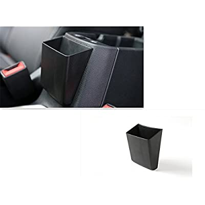 Dwindish Black ABS Auto Car Exterior Armrest Storage Box for Jeep Renegade 2015 Up: Beauty