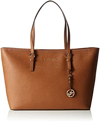 Michael Kors Jet Set Travel Bolso totes, Mujer, Marron (Luggage)