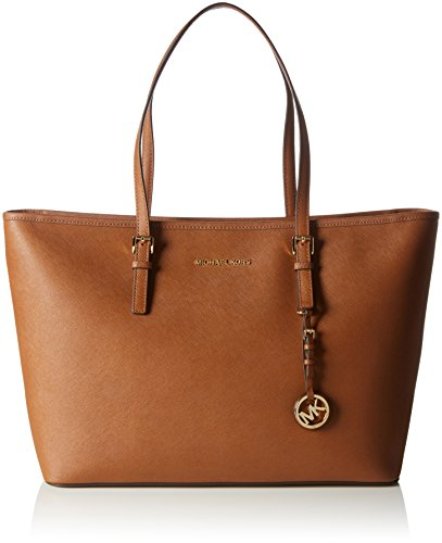 MICHAEL Michael Kors Women's Jet Set Travel Medium Multifunction Tote, Luggage
