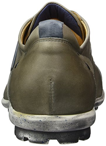 Think Kong, Zapatos de Cordones Derby para Hombre Gris (elefant/kombi 17)