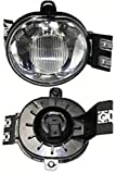 Discount Starter and Alternator CH2593121 Dodge Ram Passenger Side Replacement Fog Light Plastic Lens With Bulbs