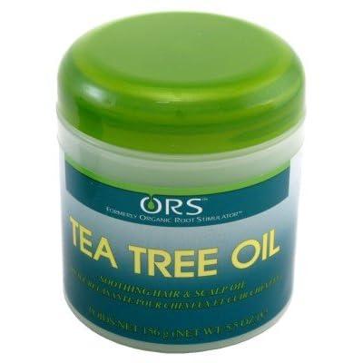 Ors Tea Tree Soothing Hair & Scalp Oil 5.5oz (3 Pack)