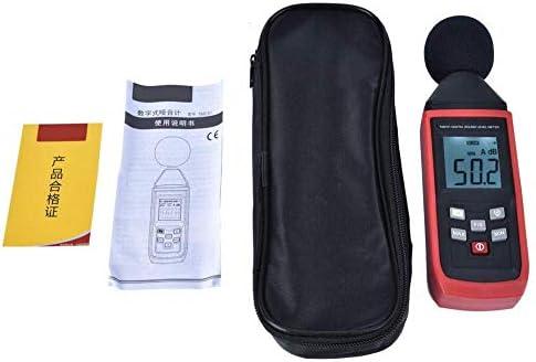 KONGZIR Indoor//Outdoor Uses USB Decibel Sound Level Meter Noise Meter Sound Meter Sound Tester Size : 256x70x35mm