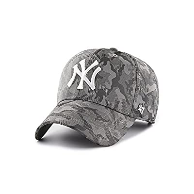 47 Brand Headwear New York Yankees Smokelin Tech MVP Adjustable Fit Hat