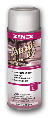 ZENEX ZenaLube Dry PTFE Lubricant and Release Agent - 12 ...