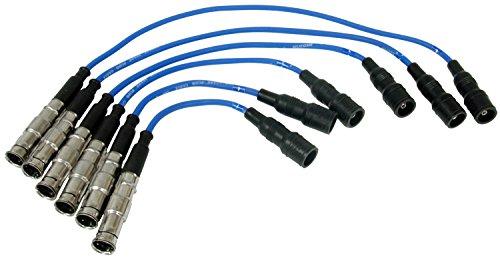 NGK (57145) VWC029 Spark Plug Wire Set - Audi Cabriolet Spark Plug