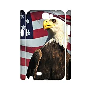 ALI Hard American Flag 3D Diy For Iphone 6Plus 5.5Inch Case Cover [Pattern-1]