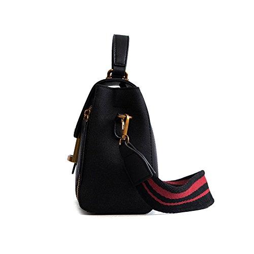 ampia bag donna stampa borsa tracolla a Borsa a retrò Tide tracolla Messenger a tracolla fashion Brown con ptg8q