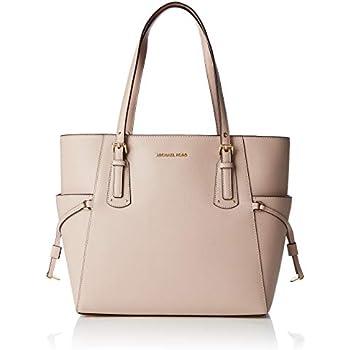 7b796bd66f4db Michael Kors Maddie Medium Crossgrain Leather Tote- Oat  Handbags ...